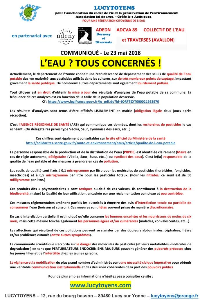 COMMUNIQUE--Lucytoyens-16-05-2018